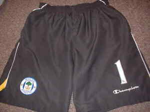 Details about Wigan Athletic Goalkeeper Adult Large Shorts Football Soccer Jersey Shirt Green