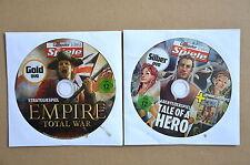 EMPIRE Total War + Tale of a Hero - Vollversionen für PC Win XP/Vista/7 NEU