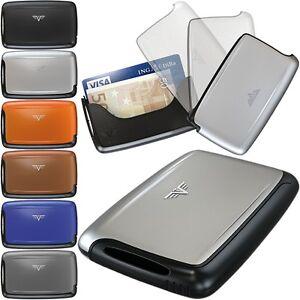 TRU-VIRTU-Aluminium-Damen-Herren-Kreditkarten-Etui-PEARL-EC-Karten-Visitenkarten
