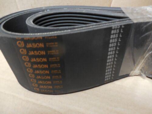 """NEW JASON TIMING BELT 865 L 2-63//34/"""" WIDTH 865L"""