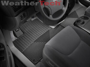 Weather Car Mats >> Details About Weathertech All Weather Car Mats Toyota Sienna 2004 2010 Black Rows 1 2