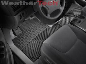 Weather Car Mats >> Weathertech All Weather Car Mats Toyota Sienna 2004 2010 Black