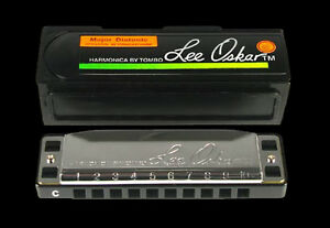 LEE-OSKAR-1910-Ab-BLUES-FOLK-HARP-A-FLAT-MAJOR-DIATONIC-HARMONICA-IN-CASE-NEW