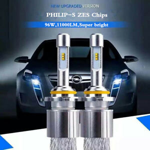 h1 h4 h7 h11 d2s 9005 car led headlight kit bulb 96w 11000lm autoimage is loading h1 h4 h7 h11 d2s 9005 car led