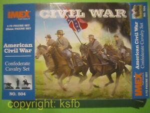 1-72-Imex-504-US-Buergerkrieg-ACW-Suedstaaten-Konfoederierte-Kavallerie-Confederate