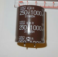 ^ 1 pc 1000uF, 250V,   Electrolytic Capacitor. Snap-in. by United Chemicon