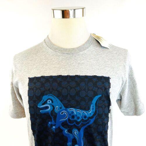 Coach X ZHU JINGYI Rexy Short Sleeve Crewneck Graphic T Shirt Mens S/L NWT