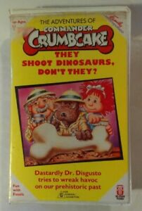 Commander-Crumbcake-VHS-1988-Family-Home-Entertainment-Hi-Tops-Video-Soft-Case