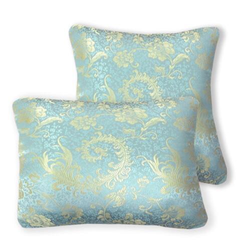 Dragon Phoenix Jacquard Damask Kimono Fabric Material BL4 Faux Silk Brocade