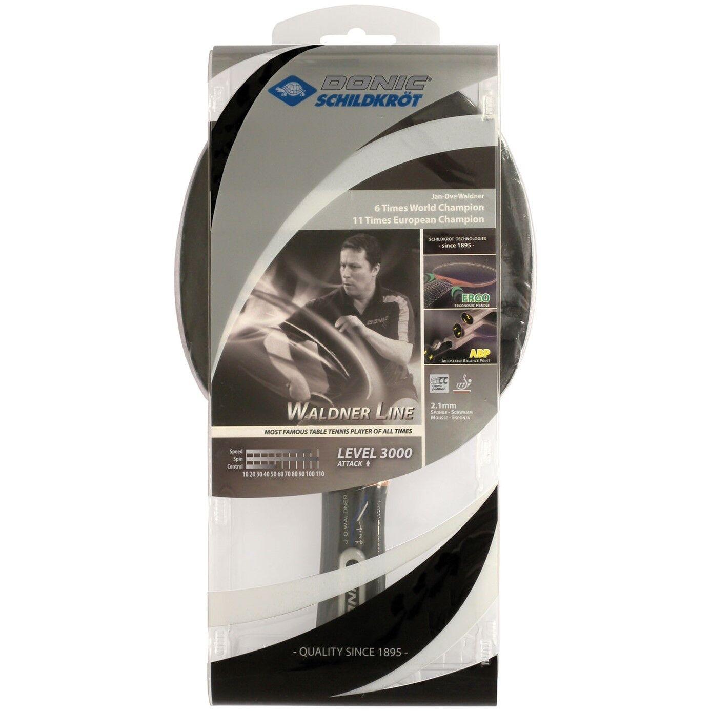 Donic Tischtennisschläger Tischtennisschläger Tischtennisschläger Waldner 3000 Carbon ABP Tischtennis Wettkampfschläger d0add7