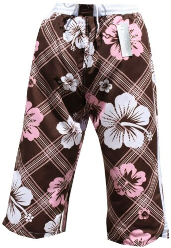 Bermuda Cargo Pantaloncini Da Bagno Costume HERREN unisex cargo marrone moka in m