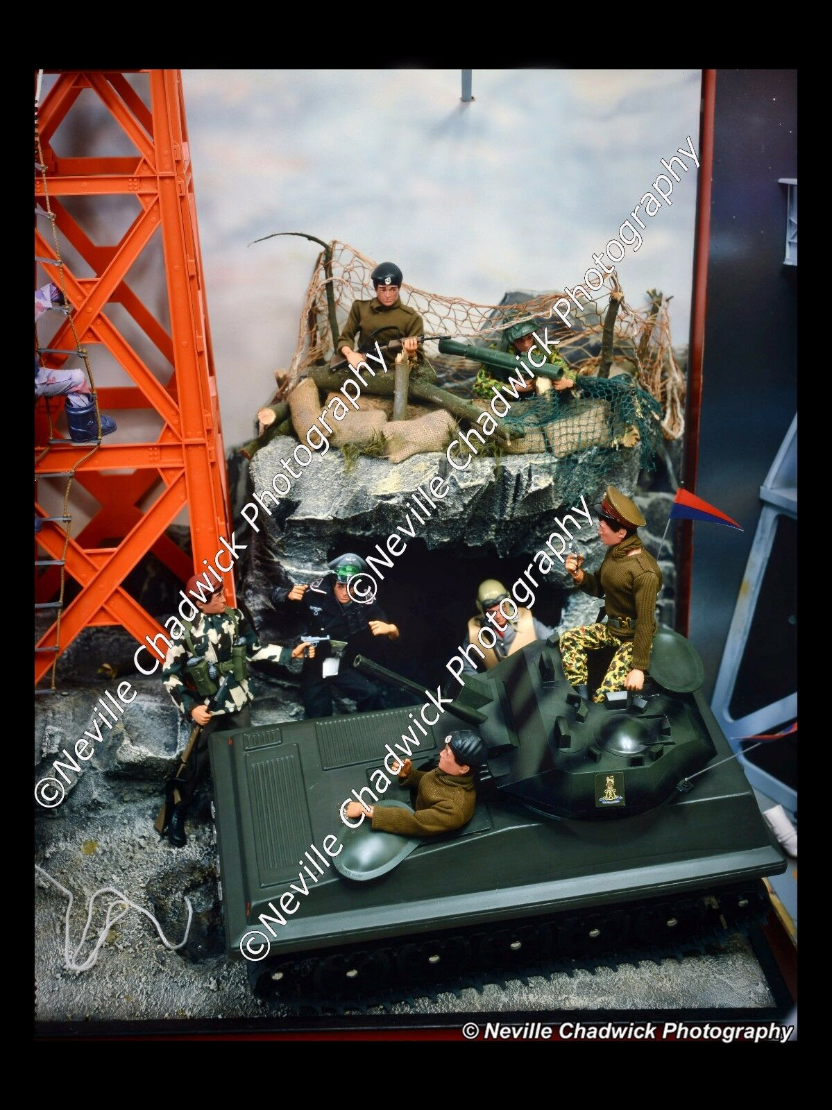 Action Man - Scene Sets - 8x6 Prints