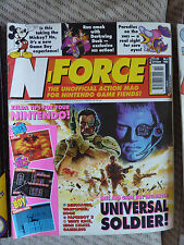 Súper acción/N-force Retro Gaming Revistas