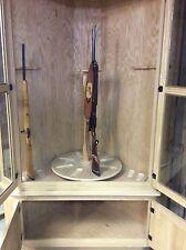 Corner oak Gun cabinet-14 guns