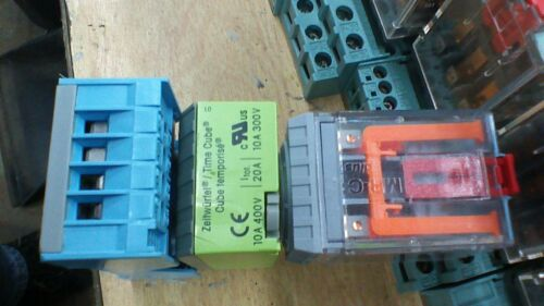 Details about  / TURCK RELECO MR-C  C2-A20X RELAYS WITH BASE WCOMAT CT2-K30//M TIMER     W280