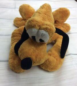 """Pluto Disneyland Paris Resort Plush Teddy Sitting Dog 15"""" CHO403 Beany Bottom"""