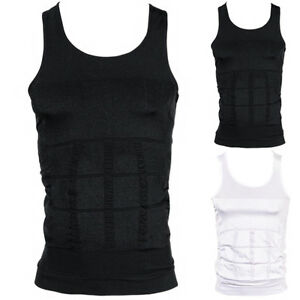 eecdcdceb2b60 Image is loading Mens-Slimming-Vest-Body-Shaper-Compression-Tummy-Trimmer-