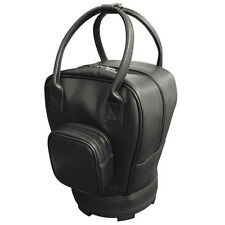 Leatherette Practice Golf Ball Bag With Pocket