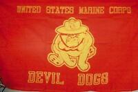 2 United States Marine Corp Bulldog Flags 3 X 5 Usmc Military Flag Marines