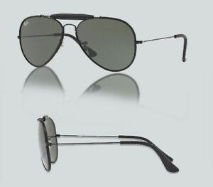 e852df2eed Image is loading Authentic-Ray-Ban-0RB3422Q-AVIATOR-CRAFT-9040-LEATHER-