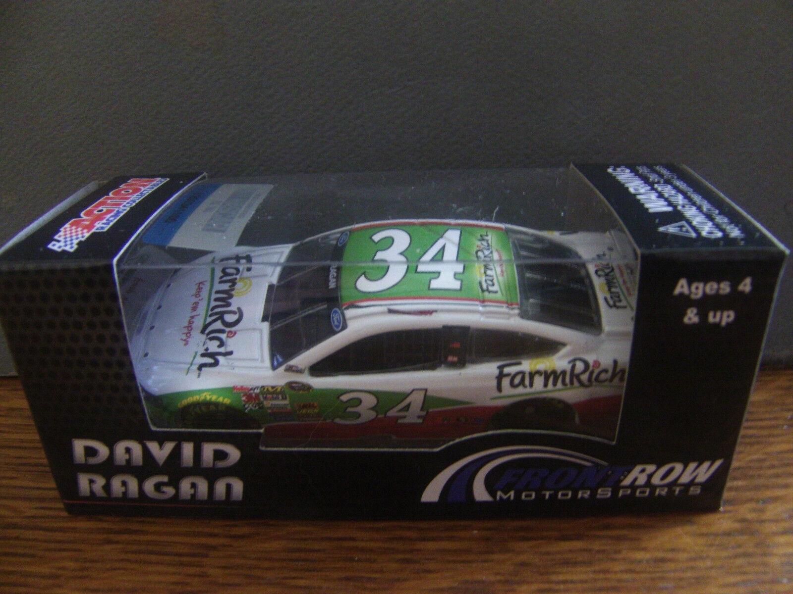 RARE David Ragan 2014 Farm Rich Ford Fusion 1 64 NASCAR