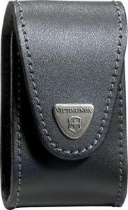Victorinox 33240 Swiss Army Black Leather Swisschamp Xlt