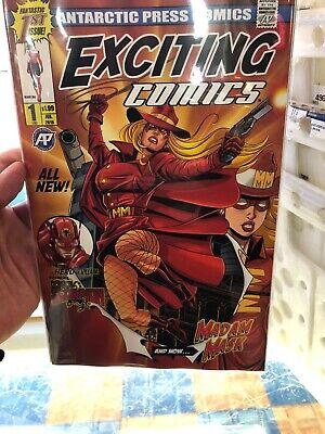 1B NM Stock Image Antarctic Press Horror Comics