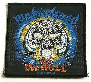 GENUINE-2010-MOTORHEAD-EMBROIDERED-JACKET-PATCH-METAL-BAND-SEW-ON-CLOTH-BADGE