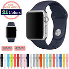 For iWatch Bands Sports Silicone Bracelet Strap Band For Apple Watch 38mm/42mm