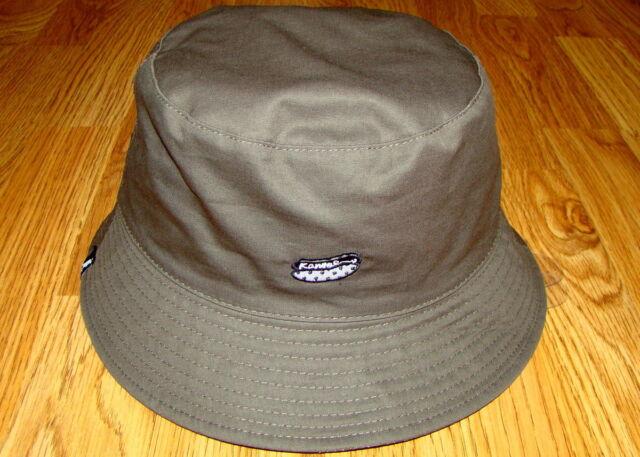 Black KANGOL Food Bucket Reversible Hat 3604b95bac3