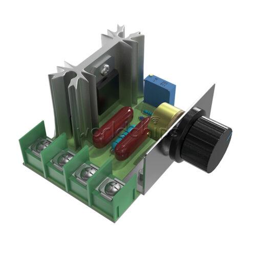 10PCS 2000W SCR Motor Speed Controller Voltage Regulator Dimmer Temp Control