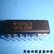NATIONAL DM74S00N Logic Gates Qd 2-Input NAND Gate 14-Pin Dip New Qty-10