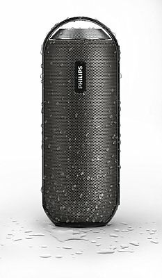 PHILIPS BT6000B BLUETOOTH SPEAKER+NFC+SPLASH PROOF+FULL RANGE DRIVERS+PORTABLE