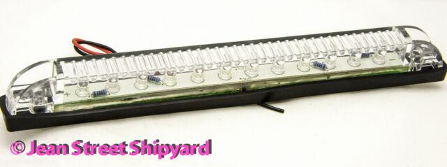 "Seachoice 8/"" Red LED underwater Light Strip 12 LEDS Waterproof 12VDC 24 Lumens"