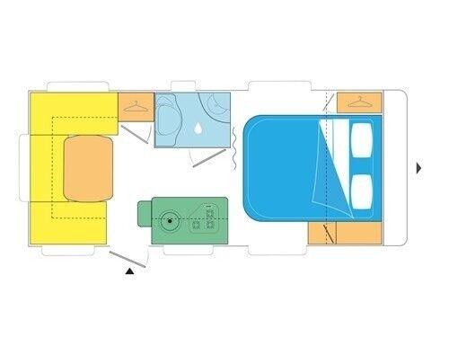Caravelair Artica 470, 2019, kg egenvægt 1100