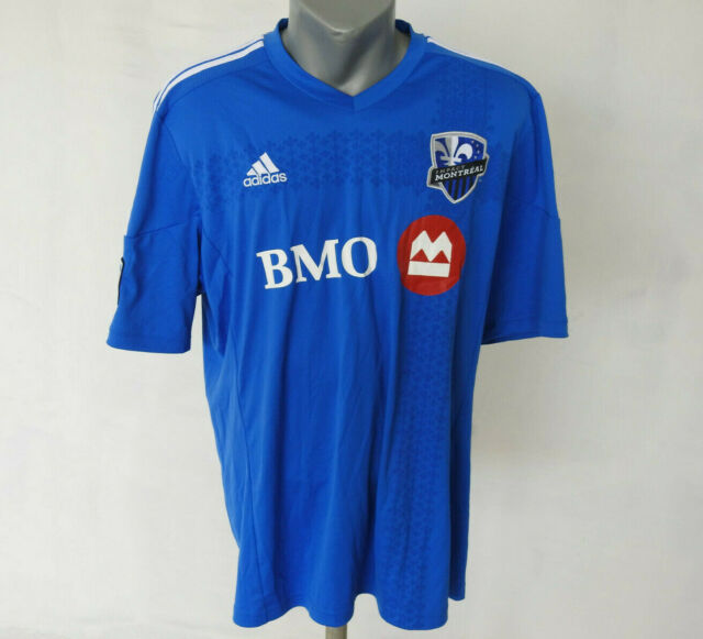super popular fad9f fd917 Montreal Impact 2014 - 2015 Home Jersey Adidas #12 Royal MLS Shirt Soccer  Sz XL