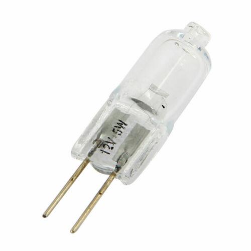 Packungen Markiert 5w//10w//20w//35w//50w Halogen Kapseln Licht Birne Lampe 12V G4
