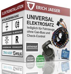 ELEKTROSATZ-E-SATZ-13-polig-fuer-ANHANGERKUPPLUNG-UNIVERSAL-MIT-BLINKUBERWACHUNG