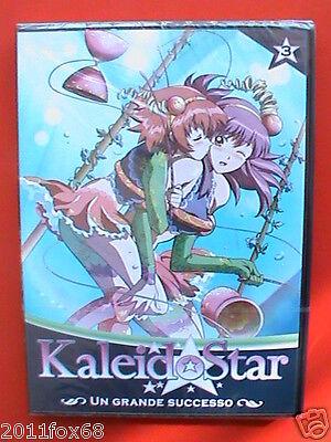 kaleidostar vol.3 kaleido star vol. 3 junichi sato animation tokyo DVD sigillato