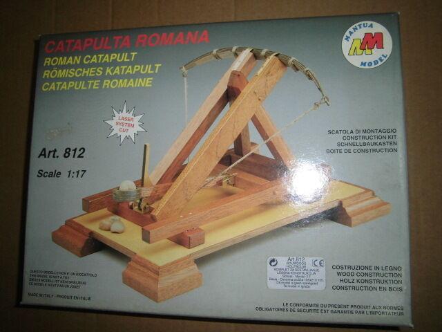 selección larga Mantua Cannon Roman Catapult Catapult Catapult Model 812 New Rare  hasta un 70% de descuento