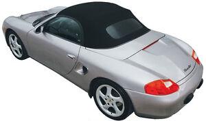 Porsche Boxster 1997-02 Convertible Top, German A5 Canvas, Blue, Glass Window