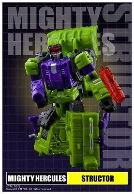 New Transformers TFC Toys Hercules Devastator exgraver Action figure in stock