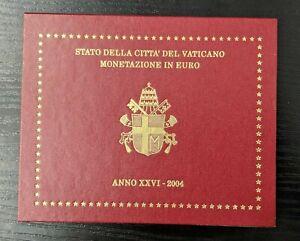 Vatican-Jean-Paul-II-Coffret-officiel-BU-8-pieces-2004