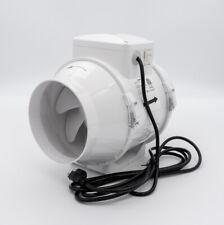 Vents Us Tt 150 6in Mixed Flow In Line Duct Fan