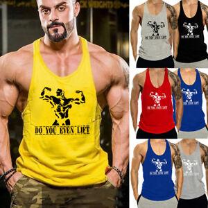 e4698d082ea93 Image is loading USA-Men-Stringer-Bodybuilding-Tank-Top-Gym-Fitness-