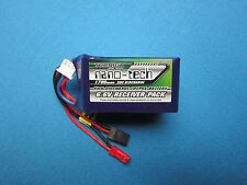 NANO-TECH 1700mAh 6.6V 20C LiFePo4 LiFe RECEIVER Rx LIPO BATTERY JST FUTABA RC
