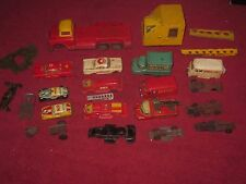 HUGE LOT OF VINTAGE TIN METAL FRICTION TOY CARS JAPAN VERY COOL!!