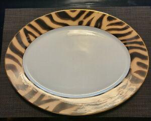 Ralph-Lauren-Tangier-pattern-china-Large-Serving-Platter-amp-Serving-Bowl-Unused