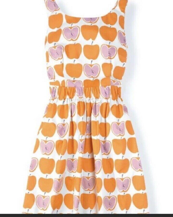 14. Boden Beatrice Apple Dress 4 Rare Euc