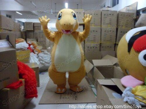 Charmander Little Dragon Fire drago di fuoco Mascot Mascott Costume EPE It